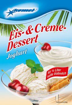 Komet Eis Dessert Joghurt