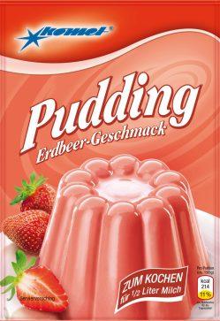 Komet Pudding Erdbeere