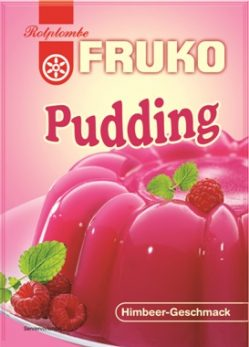 RP Fruko Pudding Himbeer